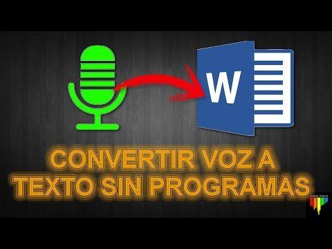 Como Transcribir Audio O Grabaciones A Texto Y Pasar De Audio Mp3 A Texto Tecnologias De La Informacion Y Comunicacion Cursos Gratis De Computacion Computacion