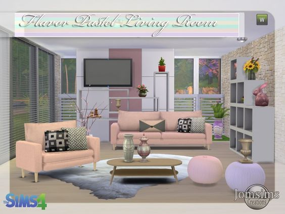 Salon sims 4 the sims 4 mods pinterest sims 4 sims for Sims 4 meuble a telecharger