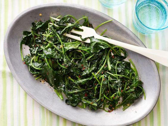 Spiced Citrus Baby Kale #Veggies #MyPlate