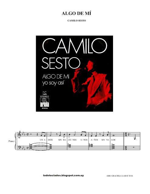 Algo De Mí Camilo Sesto Musica De Camilo Sesto Camilo Sesto Camilo