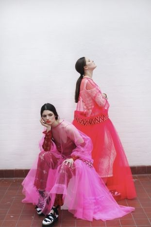 London's Central Saint Martin's fashion graduate 2012 - Molly Goddard