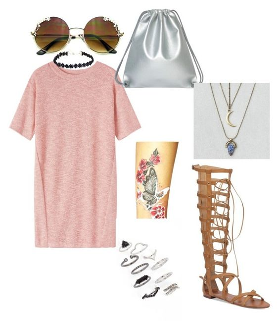 """Untitled #8"" by stylebug01 on Polyvore featuring Toast, Vince Camuto, Topshop and American Eagle Outfitters"