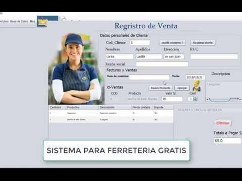 Sistema Ferreteria En Java Con Mysql Este Es Un Software Ferreteria Gratis O Programa Para Ferreteria Gratis En Español Incluye Pr Software Youtube Education