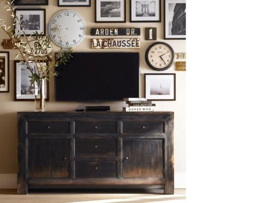 Pottery Barn Media Rooms And Pottery On Pinterest