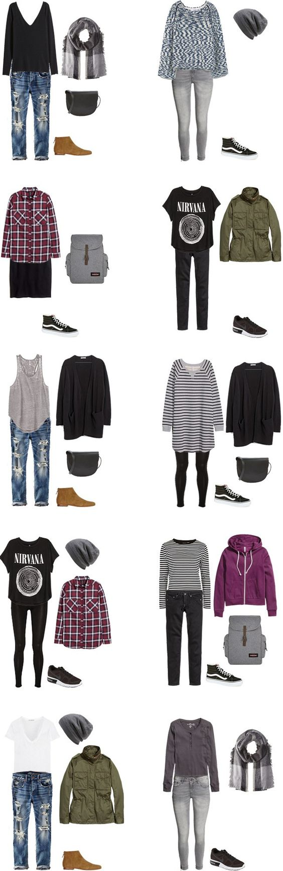 What to Wear in New Zealand Teen Edition Outfits 11-20 #travellight #packinglight #travel #traveltips