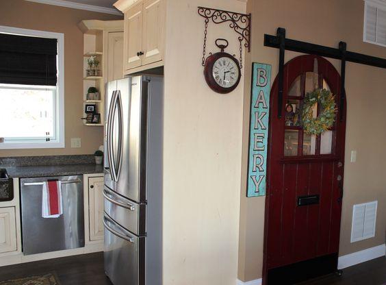 Our pantry sliding door Barn door