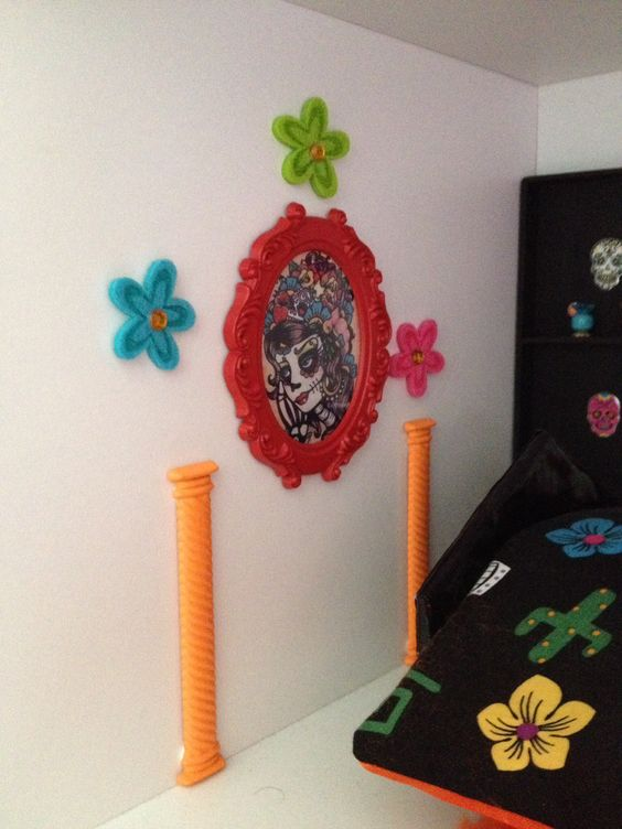 Monstres monster high and bricolage on pinterest for Stickers monster high pour chambre
