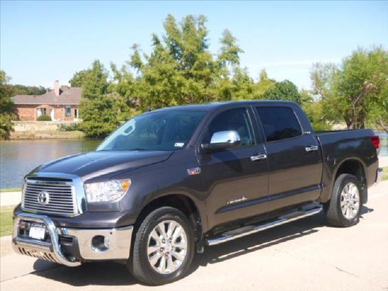 2012 Toyota Tundra CrewMax Platinum - Dallas TX