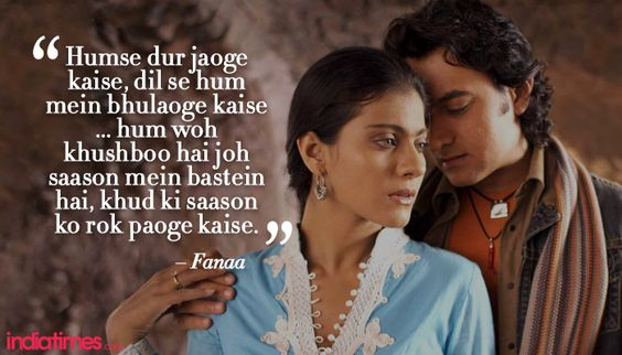 fanaa film all song