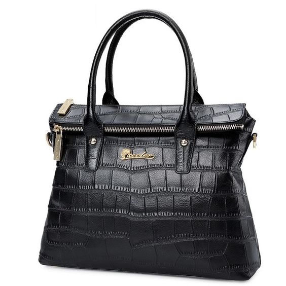ZOOLER 2016 woman leather bag luxury elegant genuine leather handbags women shoulder messenger bags OL lady beloved bolsos#1050