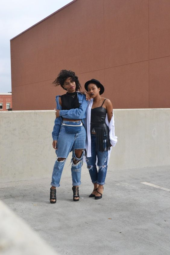 blackandkillingit:  blackfashion:Ariona x ChristyHouston TX Black Fashion Bloggers EastofZay.com  BGKI - the #1 website to view fashionable & stylish black girls shopBGKI today