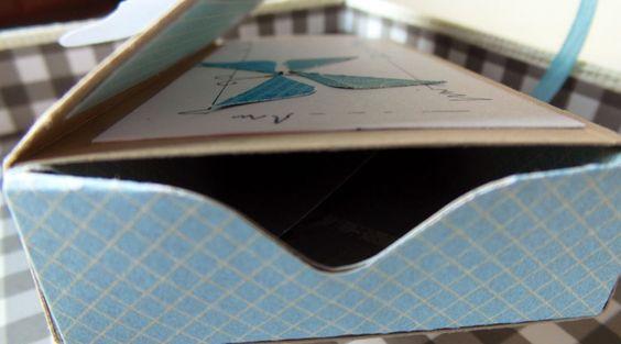 Mein Haus, mein Garten, mein Hobby.: Schiebeschachtel mit dem Envelope Punchboard