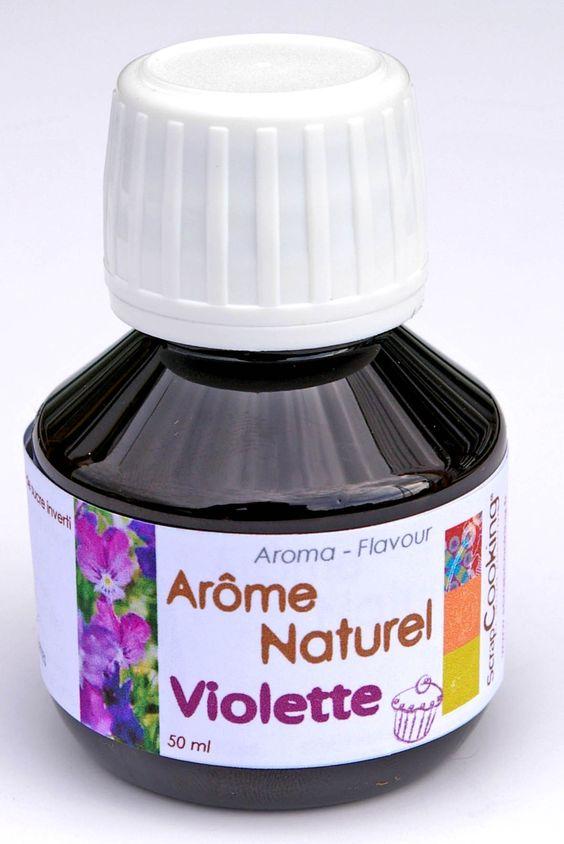 Ar Me Naturel Violette Natural Violet Flavoring From