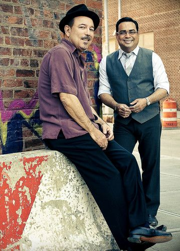 Ruben Blades and Gilberto SantaRosa #idolos | personajes | salsa | pachucochilango.com