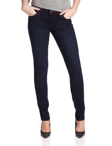 KUT from the Kloth Women's Sienna Skinny Jean, Dark Denim Wash, 2 ...