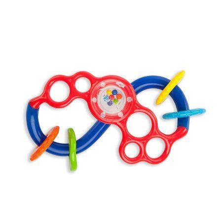 Oball Flex & Slide Teething Toy, Blue