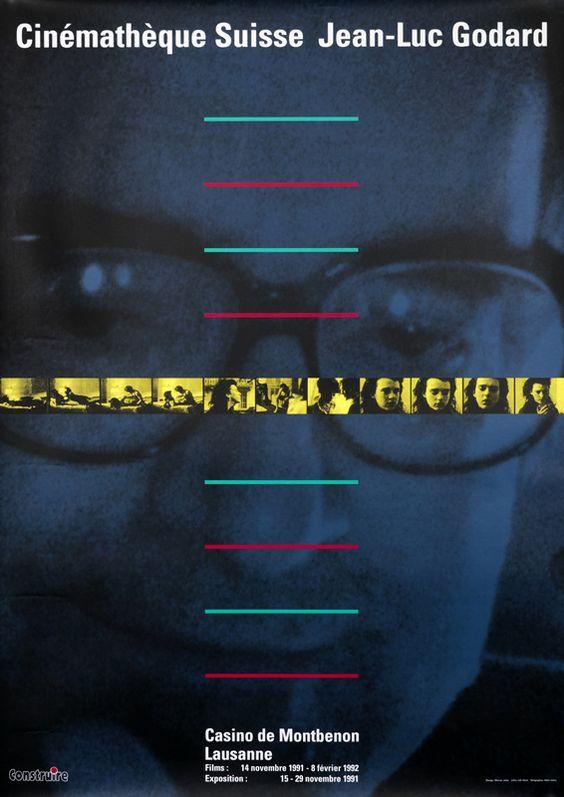 Werner Jeker Poster: Cinematheque Suisse - Jean-Luc Godard