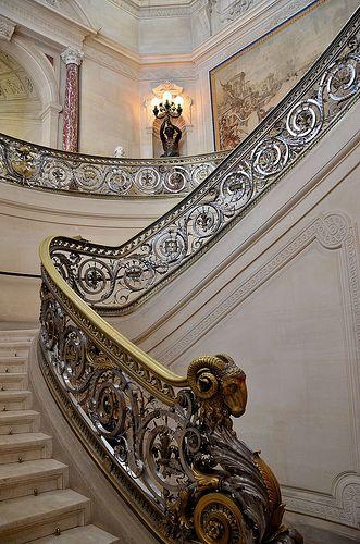 Château de Chantilly Escalier d'honneur: