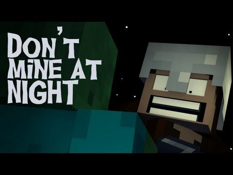 """""""Don't Mine At Night"""" - A Minecraft Parody of Katy Perry's Last Friday Night (Music Video) - YouTube"""