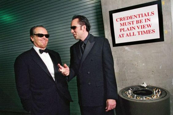 Behind-the-Scenes Moments from Oscars Past - Neatorama