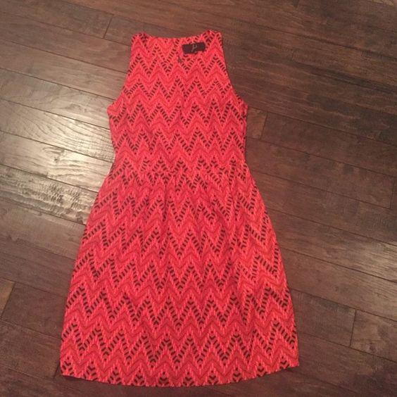 Jack Dress Pretty dress with elastic waist and cool back design Jack by BB Dakota Dresses Midi