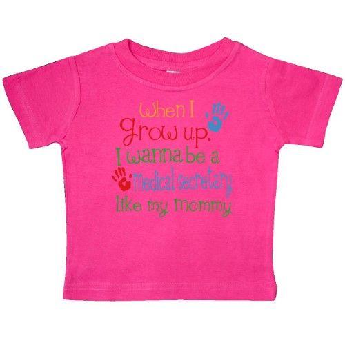 Inktastic Medical Secretary Like Mommy Baby T-Shirt Childu0027s Kids - medical secretary job description