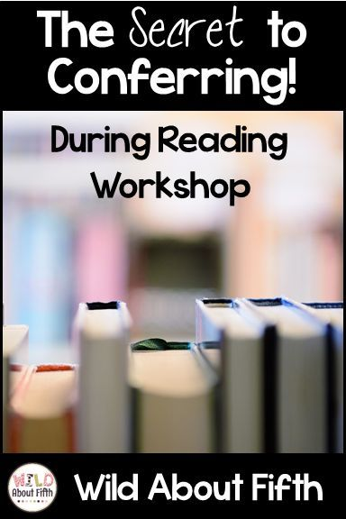Does conferring during reading workshop scare you? Have you ever felt like you're not sure what to say or teach or check for when you pull up next to a reader? This little secret solved both these problems for me! Blog Post