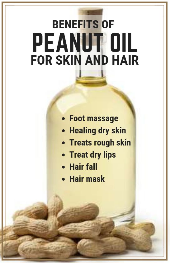 Peanut Oil Benefits For Skin And Hair #beautytips #benefits #skincare #haircare #natural