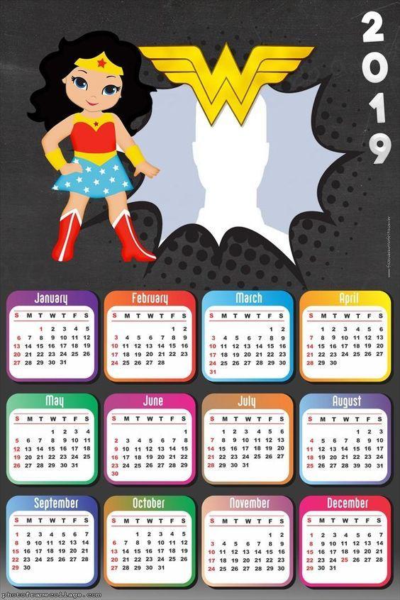 Calendario F.Calendarios 2019 En Imagenes Para Descargar E Imprimir