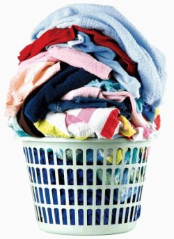 Tons of tips for keeping up with laundry and fighting stains.