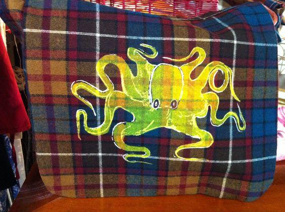 Messenger Style Man Bag. $45.00, via Etsy.