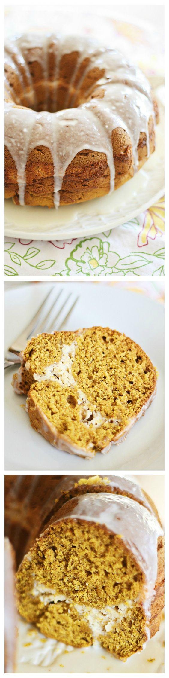 Pumpkin Cream Cheese Bundt Cake | Recipe | Recipes with pumpkin ...