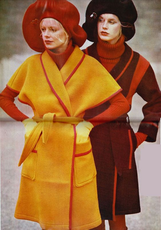 1971 Kenzo. Image via Pinterest.