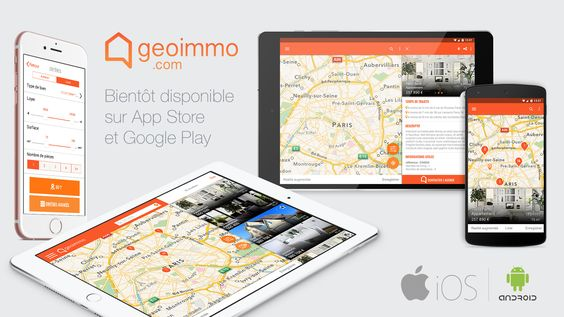 Geoimmo - application digitale de recherche immobilière innovante