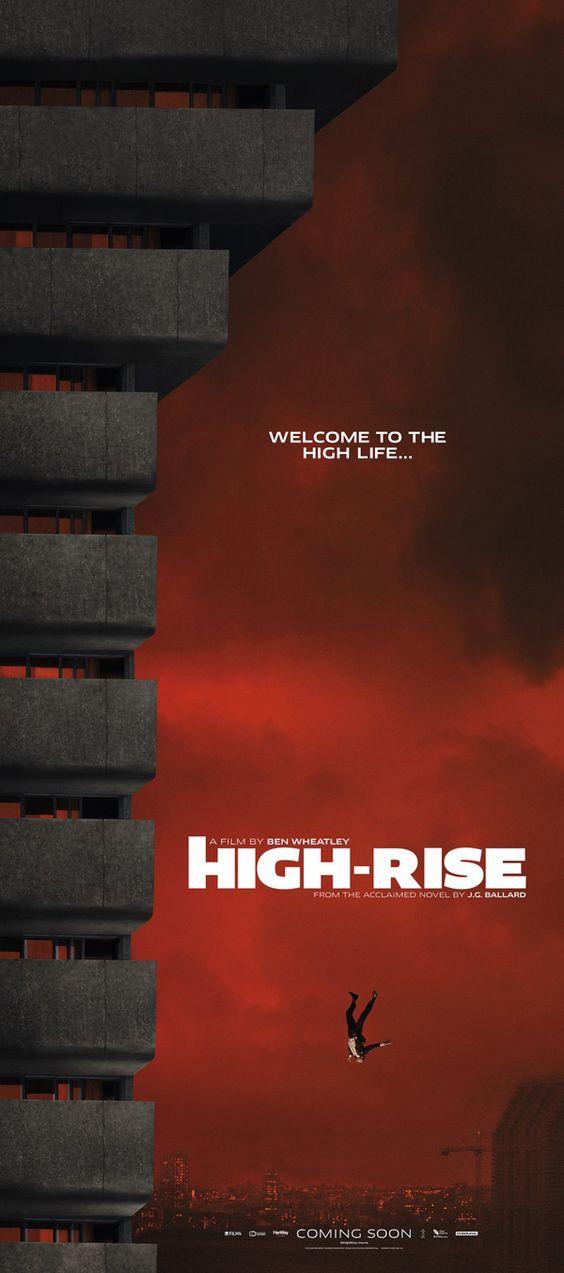 Bildresultat för high rise poster