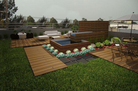 Azoteas verdes azoteas y terrazas verdes pinterest for Terrazas azoteas