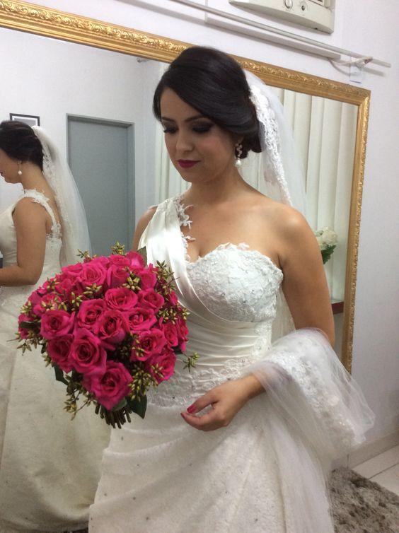 Noiva moderna e elegante