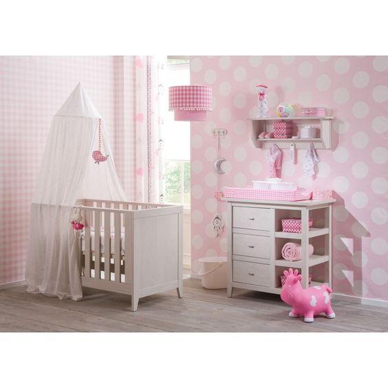 idée de chambre de bébé pour petite fille