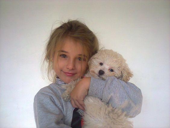 Mi reina y su mascota Lola!!!