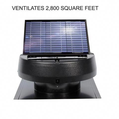30 Watt Solar Attic Fan Solarpanels Solarenergy Solarpower Solargenerator Solarpanelkits Solarwater In 2020 Solar Attic Fan Best Solar Panels Solar Energy Information