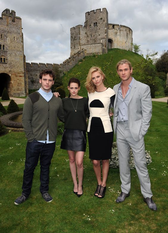 SNOW WHITE AND THE HUNTSMAN UK PHOTOCALL