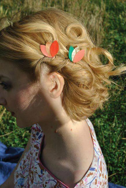 pinces cheveux Plus: