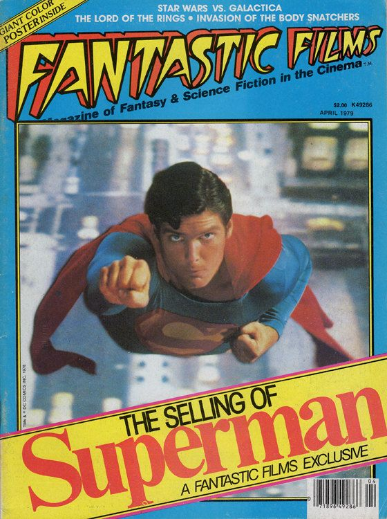 Fantastic Films April 1979 Volume 2no 1no 6 Supermanstar Etsy Superman Science Fiction Tv Steven Spielberg Movies