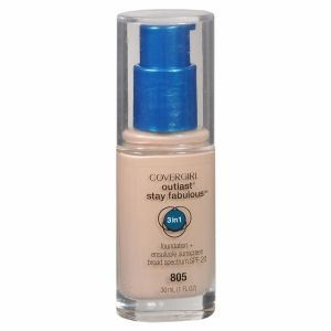 Image result for covergirl outlast fabulous foundation 805 ivory