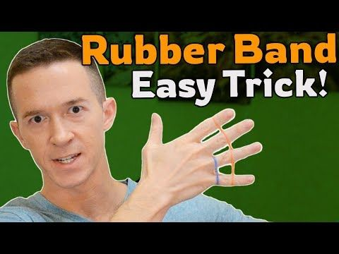 Easy Rubber Band Magic Trick Tutorial Jumps Between Fingers Youtube In 2020 Magic Tricks Tutorial Easy Magic Tricks Rubber Bands
