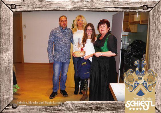 Sabrina, Moesha und Biagio Lacaria, 5 Jahre