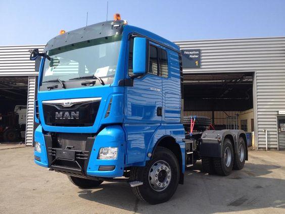 Tracteur routier Man Tgx occasion