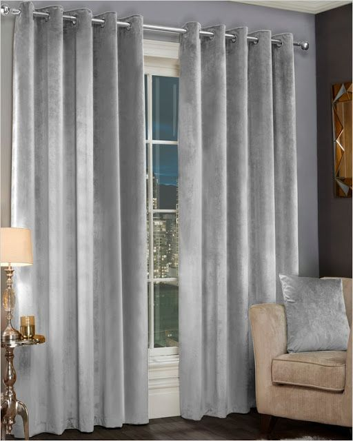 Grey Velvet Curtains Grey Velvet Curtains Curtains Living Room Dining Room Curtains