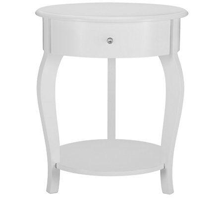 Best City Furniture Ariana White Round Nightstand Miss 640 x 480