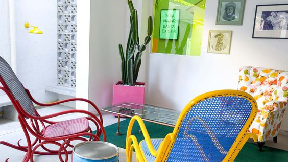 These are small Hostels in Rio, great design!